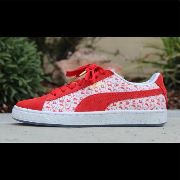new arrival 0b0f6 11d45 Puma X Hello Kitty Limited Edition Shoes (Sz 7) NWT